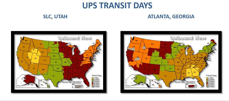 UPS Ship Times2